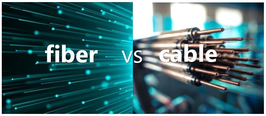 Fiber optic vs cable